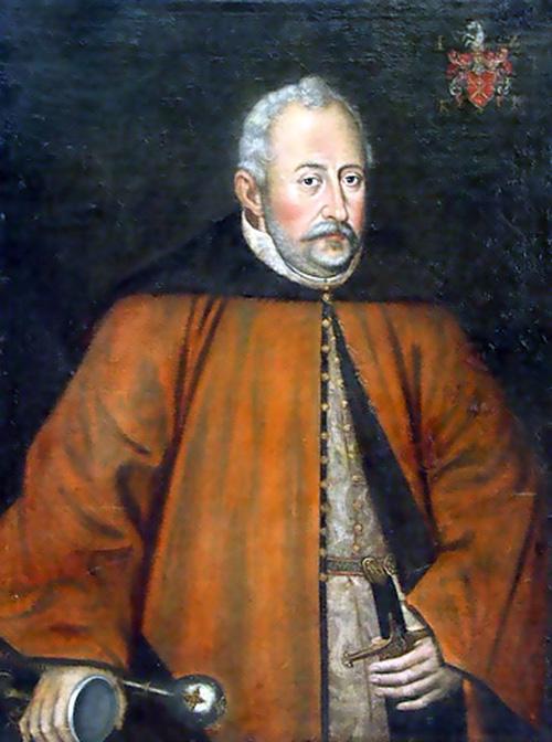 Jan Zamoyski patron Liceum Ogólnokształcącego w Turobinie